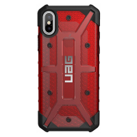Чехол Urban Armor Gear Plasma Case для iPhone X, красный-фото