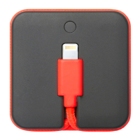 Внешний аккумулятор с кабелем Native Union Jump Cable, оранжевый-фото
