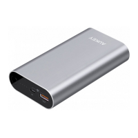 Внешний аккумулятор Aukey 10050 мАч, серый-фото