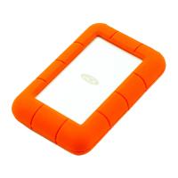 Внешний диск LaCie Rugged 1TB Thunderbolt/USB 3.0, оранжевый-фото