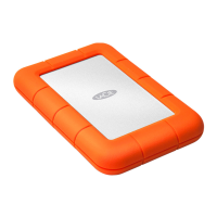 Внешний жесткий диск LaCie Rugged Mini, оранжевый-фото