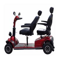 Двухместный электроскутер Novelty Electronics CityCar, красный-фото