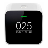 Анализатор воздуха Xiaomi PM 2.5 Air Detector, белый-фото