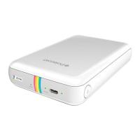 Карманный принтер Polaroid Zip, белый-фото