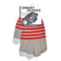 Перчатки для емкостных дисплеев Beewin акрил, размер L. Серый.BW-06GRY