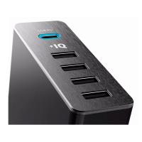 Сетевое зарядное устройство Anker PowerPort+ 5, черное-фото