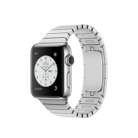 Apple Watch Series 2, 38 мм, корпус из нержавеющей стали, блочный браслет (MNP52)