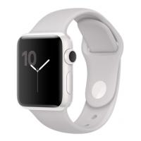 Apple Watch Edition 38 мм, корпус из белой керамики, спортивный ремешок цвета «светлое облако» (MNPF2)