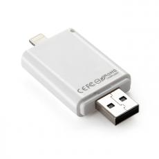 Флеш-накопитель i-FlashDevice HD, с Lightning на USB-A , 64ГБ, белый, фото 2