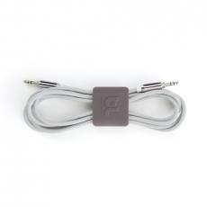 Клипсы-держатели для проводов Bluelounge CableClip, оранжевый / серый, фото 1