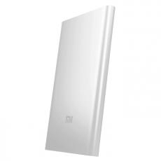 Внешний аккумулятор Xiaomi Mi Power Bank, USB-A, Micro-USB, 5000 mAh, серебристый, фото 1