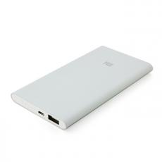 Внешний аккумулятор Xiaomi Mi Power Bank 5000 mAh, серебристый, фото 3