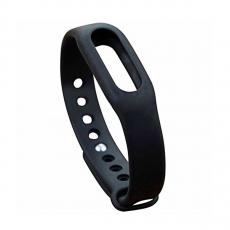 Сменный ремешок для фитнес-браслета Xiaomi Mi Band, черный, фото 1
