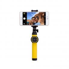 Монопод для селфи Momax Selfie Hero Bluetooth Selfie Pod 70 см, желтый, фото 1