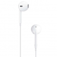 Наушники Apple EarPods с разъёмом 3,5 мм. белого цвета