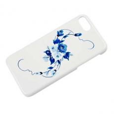 Чехол iCover HP Vintage Rose для iPhone 7, синий, IP7R-HP/W-VR/BL, фото 1