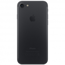 Вид Apple iPhone 7 256GB Black сзади