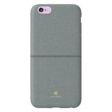 Чехол-накладка Just Must Ratio II Collection на iPhone 7/8, эко-кожа, серый, фото 1