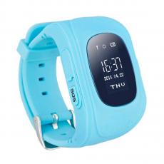 Умные детские часы с GPS Smart Baby Watch Q50, синие, фото 1