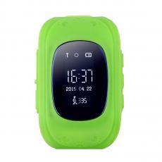 Умные детские часы с GPS Smart Baby Watch Q50, зеленые, фото 1