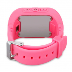Умные детские часы с GPS Smart Baby Watch Q50, розовые, фото 1