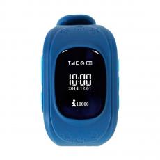 Умные детские часы с GPS Smart Baby Watch Q50, темно-синие, фото 1