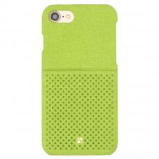 Чехол-накладка Just Must Mercedes Collection на iPhone 7/8, эко-кожа, зелёный, фото 1