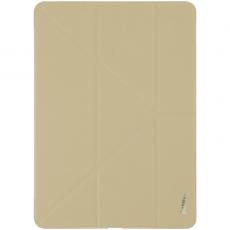 Чехол кожаный Baseus Simplism Y-Type для iPad Pro 12.9, хаки, LTAPIPD-E11