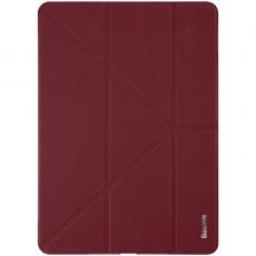 Чехол кожаный Baseus Simplism Y-Type для iPad Pro 12.9, красный, LTAPIPD-E09