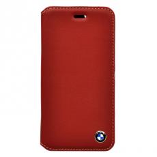 Фото чехла-книжки BMW Bicolor для iPhone 6 Plus/6S Plus, красный/бежевый