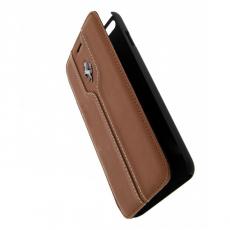 Чехол-книжка Ferrari Montecarlo для iPhone 6 Plus/6S Plus, светло-коричневый, фото 1