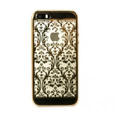 Чехол Devia Crystal Iris для iPhone 5, 5S, SE, шампанское золото, фото 1