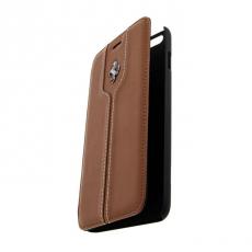 Чехол-книжка Ferrari Montecarlo для iPhone 6 Plus/6S Plus, светло-коричневый, фото 2