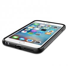 Чехол для беспроводной зарядки iPhone 6 и 6s Plus Spigen Slim Armor Volt, стальной, фото 3