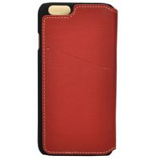 Чехол-книжка BMW Bicolor для iPhone 6 Plus/6S Plus, красный/бежевый, фото 1
