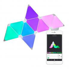 Фото умной системы освещения Nanoleaf Aurora Smarter Kit