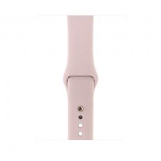 """Apple Watch Series 3, 38 мм, корпус из золотистого алюминия, спортивный ремешок цвета """"розовый песок"""", фото 2"""