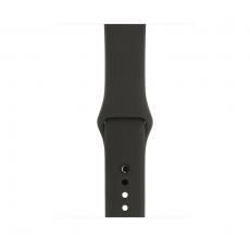 """Apple Watch Series 3, 42 мм, корпус из алюминия цвета """"серый космос"""", спортивный ремешок серого цвета, MR362RU/A, фото 2"""
