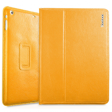 Чехол Yoobao Executive leather case for iPad Air, Yellow, LCIPADAIR-EYL