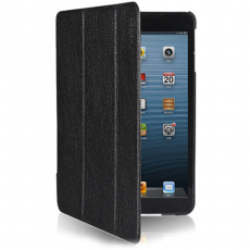 Чехол Yoobao iSlim leather case for iPad Mini, black, LCAPMINI-SLBK