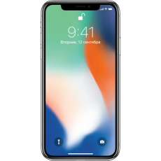 Apple iPhone X 64GB (серебристый), фото 1
