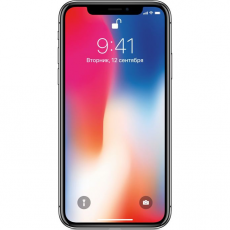 Apple iPhone X 256GB (серый космос), фото 1