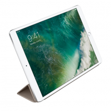 Кожаная обложка для iPad Pro 10.5 Smart Cover (платиново-серый), фото 2
