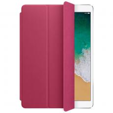 Кожаная обложка для iPad Pro 10.5 Smart Cover (розовая фуксия), фото 1