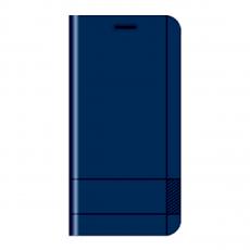 Чехол-книжка Just Must Emboss Basic Collection для iPhone 5/5s/SE, эко-кожа, тёмно-синий, фото 1