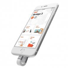 Внешний накопитель для iOS-устройств Leef iBridge 3 32Gb (серебристый), фото 1