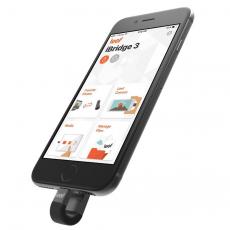 Флеш-накопитель Leef iBridge 3, с Lightning на USB-A, 64 ГБ, чёрный, фото 2