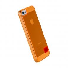 Чехол-накладка Hoco Crystal protective для iPhone 5/5s/SE, поликарбонат, оранжевый, фото 1