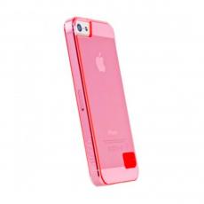 Чехол-накладка Hoco Crystal protective для iPhone 5/5s/SE, поликарбонат, розовый, фото 1