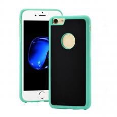 Чехол-накладка антигравитационный Sticks Magic для iPhone 7/8,  поликарбонат, зелёный / чёрный, фото 1